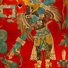 Ancient Mayan Image at the Anthropological Museum in Mexico City by Atanas Bozhikov NASKO