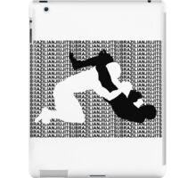 BRAZILIAN JIU JITSU MMA TRIANGLE CHOKE  iPad Case/Skin