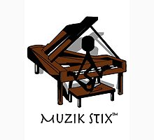 Keys - Muzik Stix Collection Unisex T-Shirt