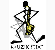 Saxie - Muzik Stix Collection Unisex T-Shirt