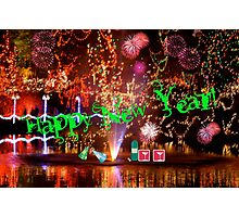 Happy New Year Redbubblers!! Photographic Print