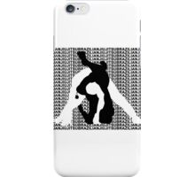 BRAZILIAN JIU JITSU MMA TRIANGLE CHOKE 2 iPhone Case/Skin