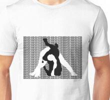 BRAZILIAN JIU JITSU MMA TRIANGLE CHOKE 2 Unisex T-Shirt