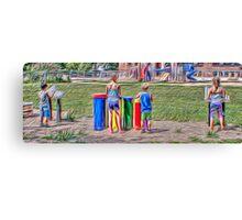 Playground Ensemble Canvas Print