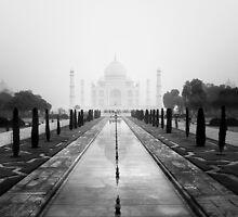 Taj Mahal by Nina Papiorek