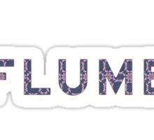 Flume Black camo Sticker