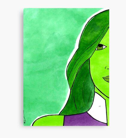 She Hulk – Legal Eagle & Badass Superhero Canvas Print