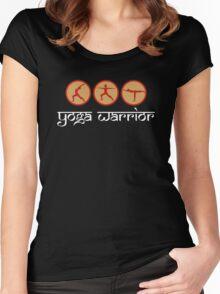 Yoga Warrior - Yoga T-Shirt Women's Fitted Scoop T-Shirt