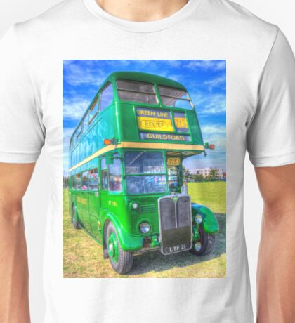 Double Decker Bus Unisex T-Shirt