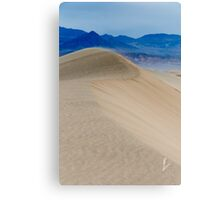 Dune Curves Canvas Print