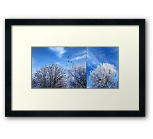 Four and Twenty (diptych) Framed Print