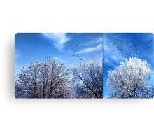 Four and Twenty (diptych) Canvas Print