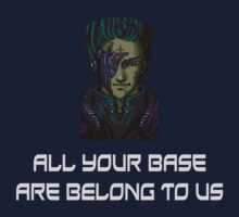 AYBABTU ~ All Your Base Are Belong To Us ~ t shirt Kids Tee