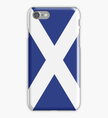 The Flag of Scotland Print iPhone Case/Skin