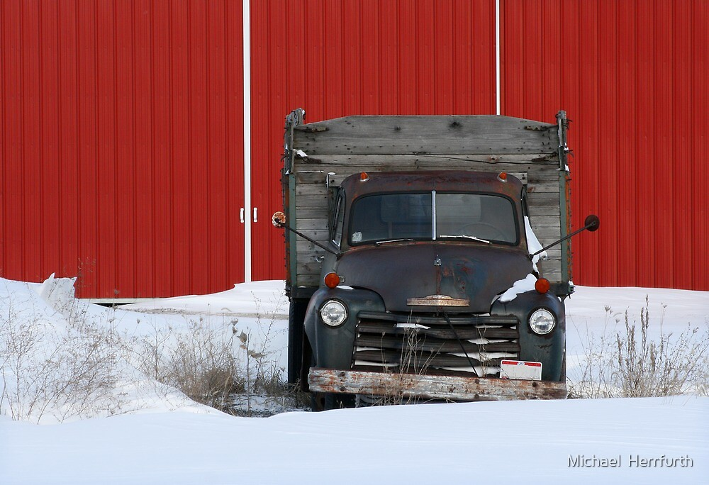 Old Truck by Michael  Herrfurth