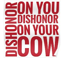 DISHONOR! Poster