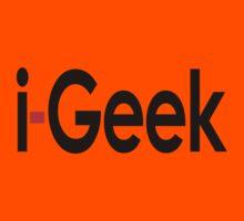 i-Geek Cool Shirt Top Design T Kids Tee