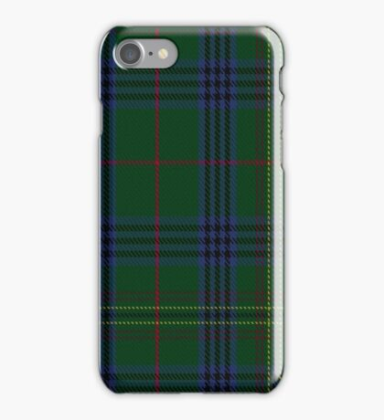 00032 Kennedy Clan Tartan  iPhone Case/Skin