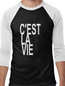 C'est la Vie Shirt Top Fashion Le Tee - That's Life! - T-shirt Men's Baseball ¾ T-Shirt