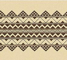 Polynesian geometric pattern by JeraRS