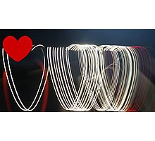 I Heart You... Photographic Print