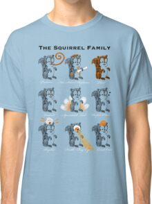 The Squirrel Family Classic T-Shirt
