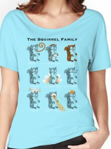 The Squirrel Family Women's Relaxed Fit T-Shirt