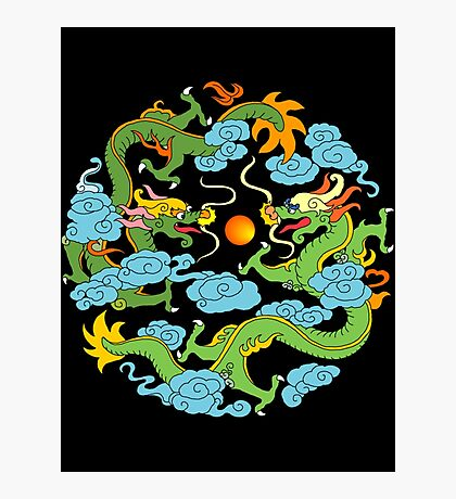 Chinese Dragon T-Shirt Photographic Print