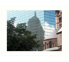 Reflections in Beantown Art Print