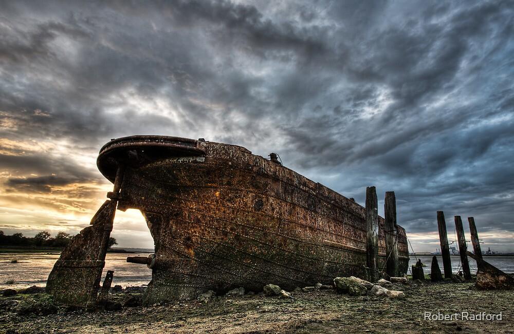 Boat Wreck by Robert Radford