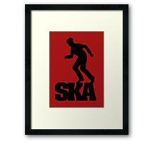 Ska Dancer Framed Print