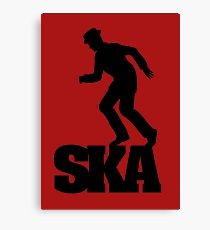 Ska Dancer Canvas Print