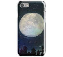 Moonlit Hush iPhone Case/Skin
