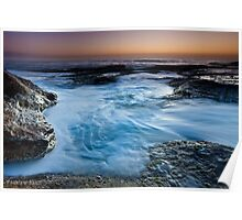 Lush Blue - Coogee Poster