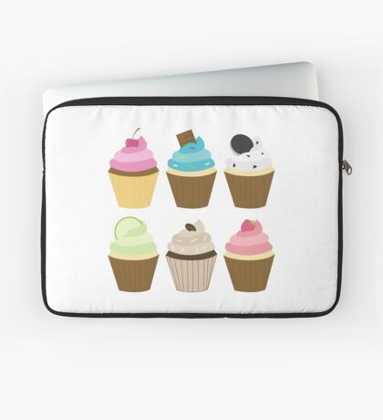 Cupcakes Laptop Sleeve