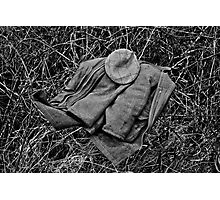 Guns Coat & Hat Photographic Print