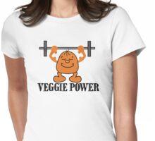 Veggie Power Womens Fitted T-Shirt