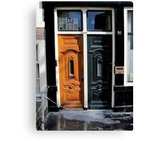 Doors of Europe-Amsterdam Canvas Print