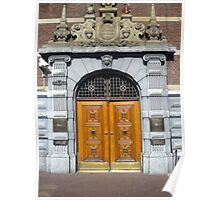 Doors of Europe-Amsterdam 1 Poster