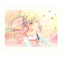 Kaori Art Print