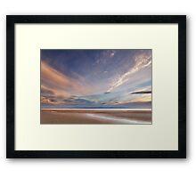 Evening on Burnham Beach Framed Print