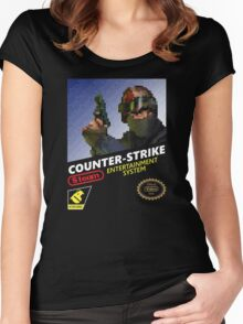 CS:GO Retro T-Shirt Women's Fitted Scoop T-Shirt