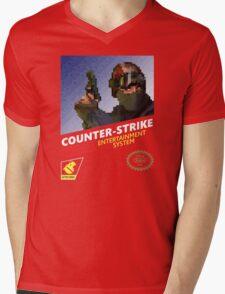 CS:GO Retro T-Shirt Mens V-Neck T-Shirt