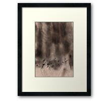 Ash Abstraction Framed Print