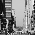 Down 7th Avenue by NickSpiros