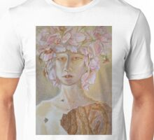 Rosewoman - Portrait In Crayon With Thorns For Teeth Unisex T-Shirt