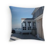 A Room With Quite A View Throw Pillow
