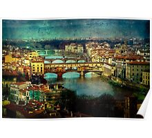 Florence late afternoon Poster