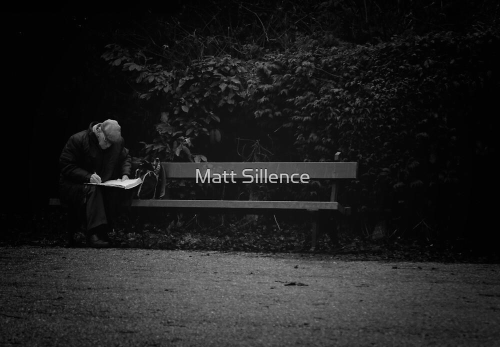 Busy Writing by Matt Sillence
