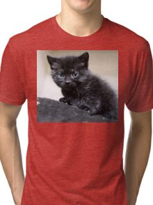 Small but purrfectly formed Tri-blend T-Shirt